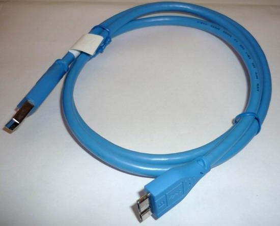 usb 3 0 kabel anschlusskabel 3m blau micro b stecker st. Black Bedroom Furniture Sets. Home Design Ideas